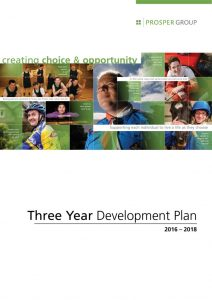 Prosper Group Three Year Development Plan - Prosper Fingal Intellectual Disability Services and Supports