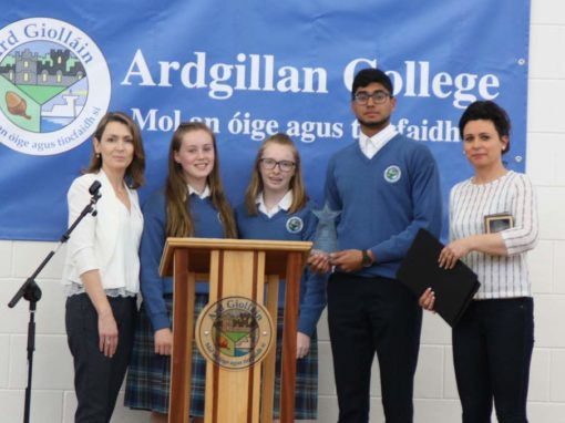 'Making a Difference' Ardgillan College