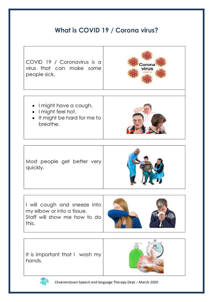 thumbnail of Easy to Read – What is COVID-19