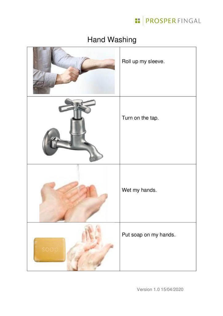 thumbnail of Coronavirus hand washing